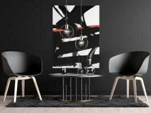Modern Dark Poster – Free Mockup