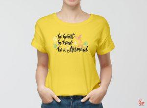 Women Wearing T-Shirt – Free PSD Mockup