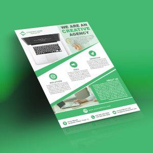 Realistic Flyer – Free PSD Flyer Mockup