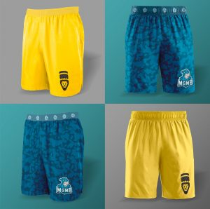 Training Shorts for Male – Free PSD Mockup