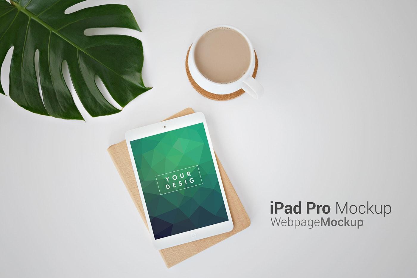 iPad pro mockup free psd download min