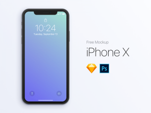 iPhone X Free PSD Mockups
