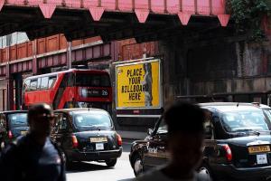 Free Billboard Poster Mockup