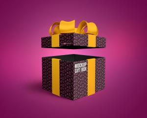 Gift Box – Free Mock