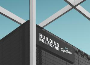 Commercial Office Building Billboard – Free Mockup