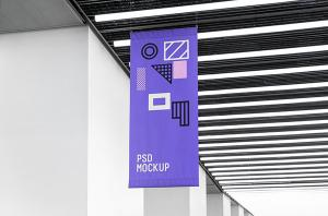 Flag Free Mockup