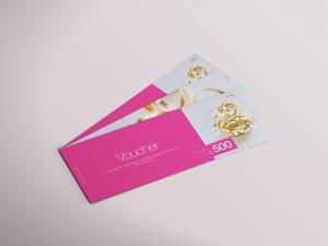 Gift Voucher – Free Mockup