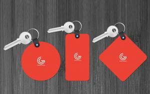 Key Tags 3 Types – Free Mockup