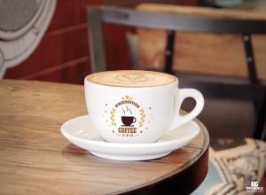 Logo Branding Coffee Cup Free Mockup