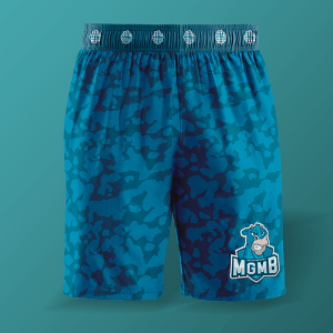 Free Sports / Training Men's Shorts Mockup
