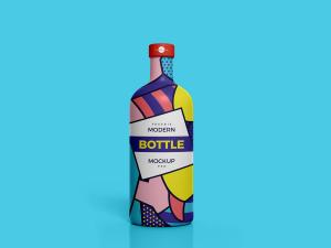 Modern Brand Bottle – Free Mockup
