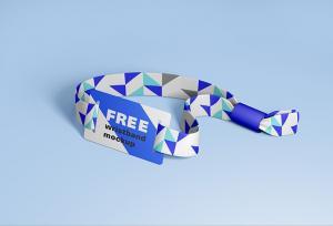 RFID wristband – Free Mockup