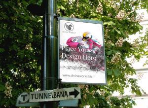 Street Sign – Free Mockup