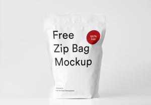 Zip Bag – Free Mockup