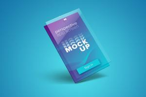 Perspective App Screen – Free Mockup