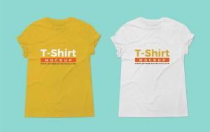 T-shirt For Branding Free Mockup