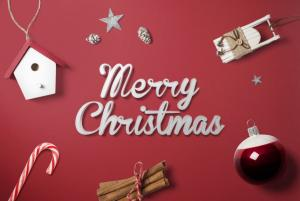 Christmas Scene – Free Mockup