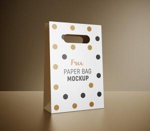 Gift Bag Free Mockup
