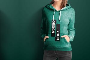 Set of Hoodie for Women – Free Mockups