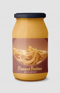 Peanut Butter Container Free Mockup