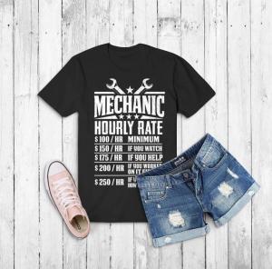 T-Shirt with Shorts Free Mockup