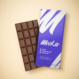 Download Chocolate Free PSD Mockups