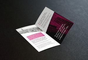 DL Bifold Brochure Free Mockup
