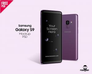 Samsung Galaxy S9 – FreeMockup