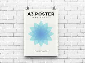 A3 Poster – Free Mockup