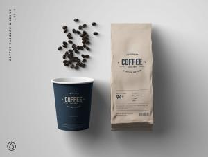 Coffee Package – Free Mockup