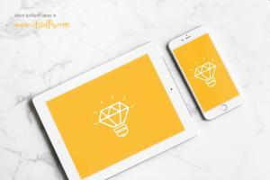 iPhone and iPad – Free Mockup