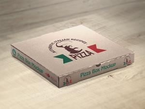 Free Set of Pizza Box Mockups