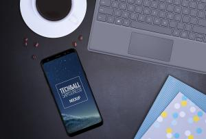 Samsung Galaxy S8 – Free Mockup