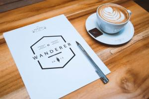 A4 Letterhead and Coffee Cup Free Mockup