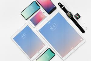 Free Apple Devices Showcase Mockups