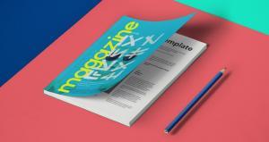 A5 Magazine – Free Mockup