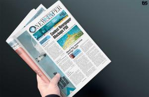 Newspaper Front Page – Free Mockup