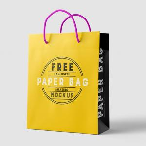 Paper Bag – Download Free Mockup