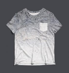 Free Pocket T-Shirt Mockup