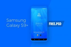 Samsung Galaxy S9+ Free Mockup