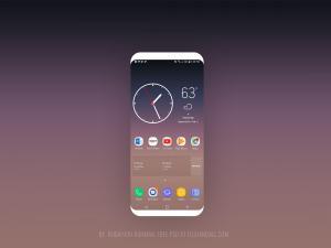 Samsung Galaxy S8 Screen – Free mockup