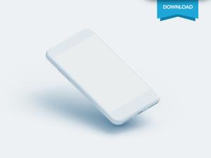 Free Iphone Clay Mockup