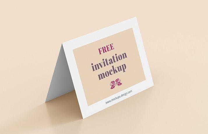 invitation free mockup 2-min