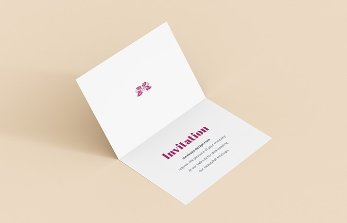 invitation free mockup 3-min