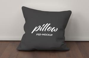 Realistic Pillow Free Mockup