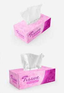 Tissue Box Packaging Free Mockup