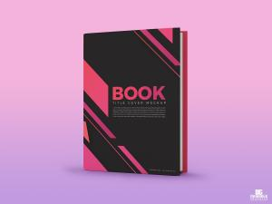 Title Book Cover Free Mockup