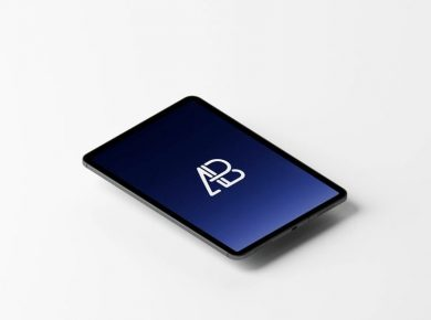 Animated iPad Pro Free Mockup