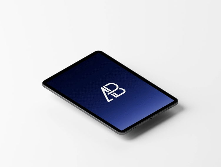Animated iPad Pro Free Mockup