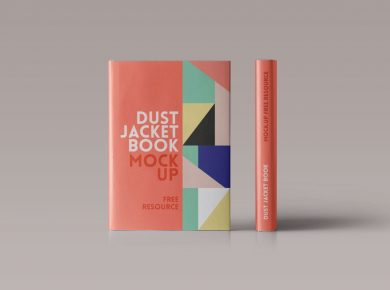 Book Cover Free Mockups
